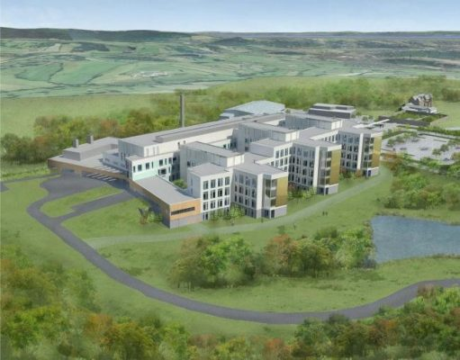 New Grange Hospital Building in South Wales