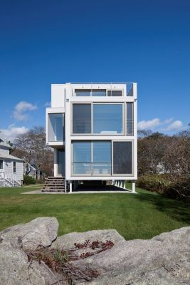 Northern Exposure, Works of Carol A. Wilson Architect - Building in Falmouth, Maine, USA