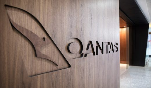 Qantas Lounge at Heathrow Terminal 3