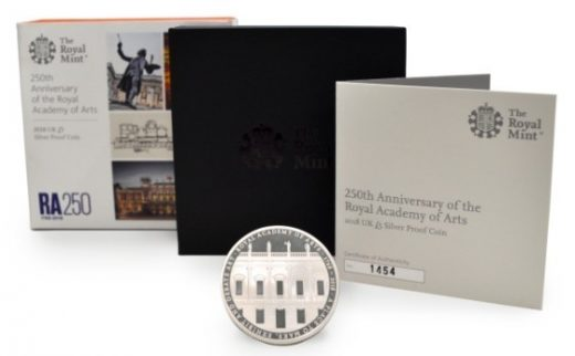 Royal Academy of Arts Coin by David Chipperfield architect