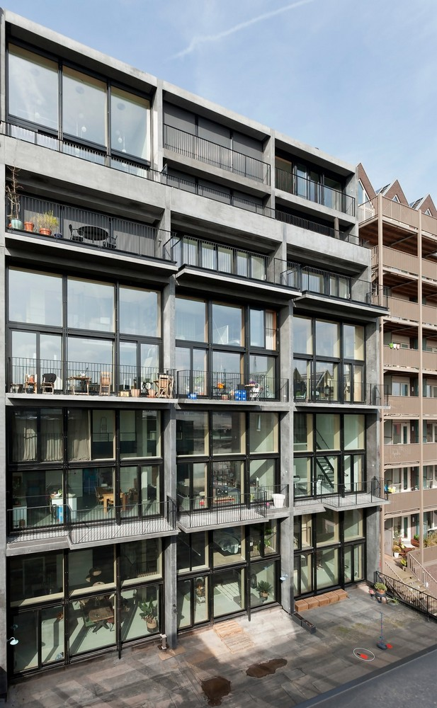 Superlofts housing in amsterdam 4 e architect for Product design jobs amsterdam