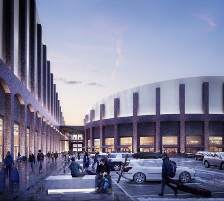 Swindon Indoor Snow Centre Building design