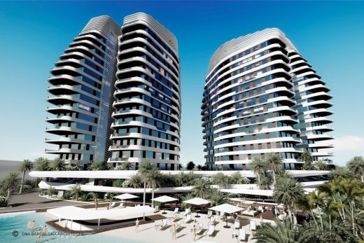 The Sail Towers Hotel Mexican Architecture News