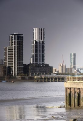 The Waterman Apartment Buildings on Greenwich Peninsula