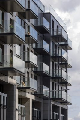 The Waterman on Greenwich Peninsula by Pilbrow & Partners