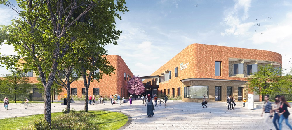 Tolworth Mental Health Hospital In London E Architect
