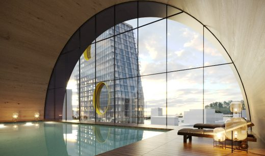 Tushino Moscow Building interior by Steven Holl Architects