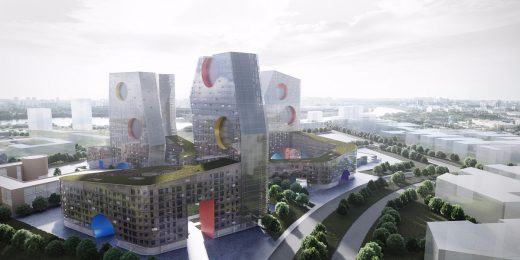 Tushino Moscow Buildings by Steven Holl Architects