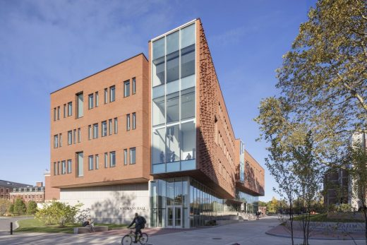 University of Rochester Wegmans Hall, USA by Kennedy & Violich Architecture