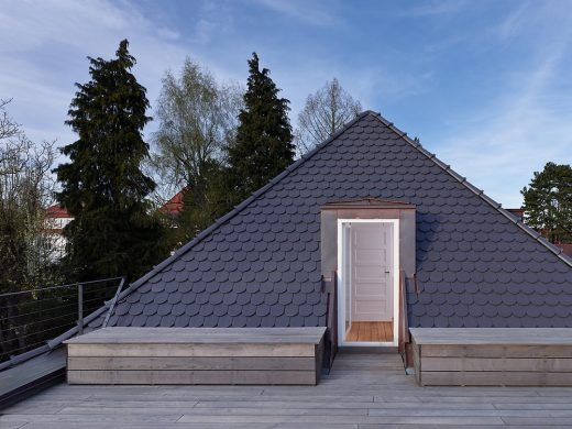 Modern Renovated and Extended Residence in Germany design by Holzer Architekten