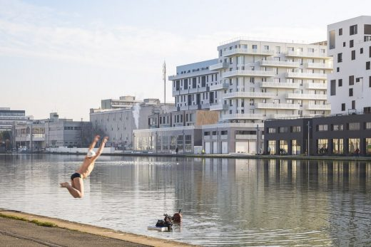 ZAC du Port Housing in Pantin France