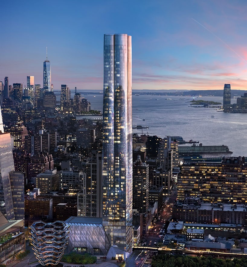 Fifteen hudson yards new york city tower building design for Architecture jobs nyc
