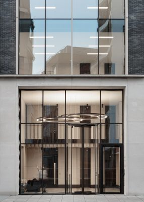 55 Wells Street House in Fitzrovia