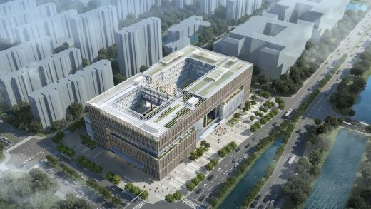 Agricultural Bank of China in Ningbo design by RMJM Architects