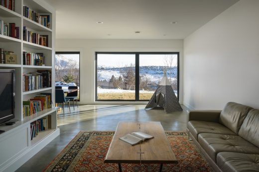 Contemporary Home in Boise design by Vaughn Yribar Architecture