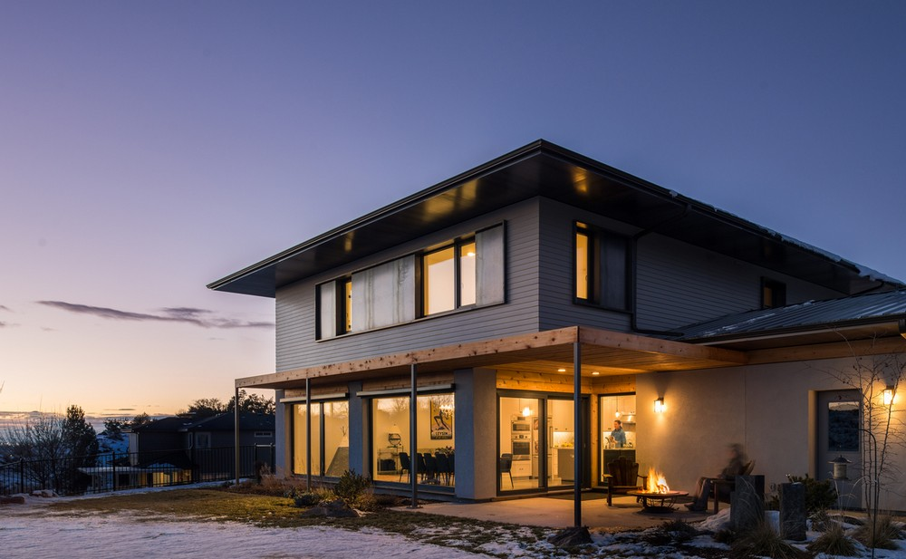 Ashtree passive house in boise idaho e architect for Architects in boise idaho