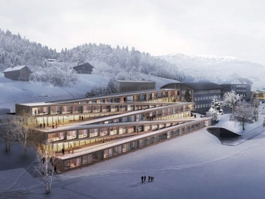 Audemars Piguet hotel Switzerland by Bjarke Ingels architect, BIG