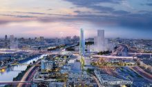 Charenton Bercy District Masterplan and Tower in Paris