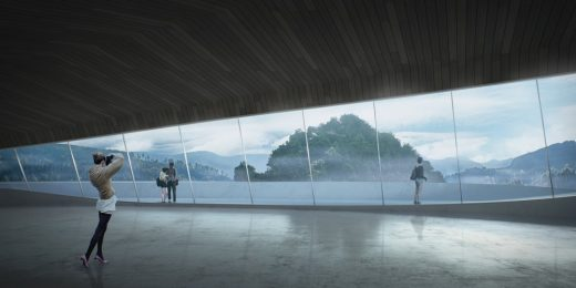 Cloud Garden of General Yisabu, Gangwon-do building design