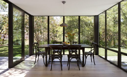 Creekside Residence, Palo Alto house interior