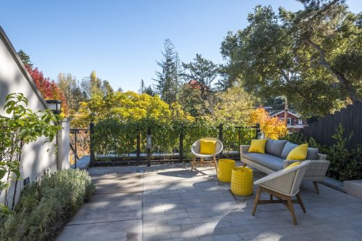 Burlingame property garden landscape design