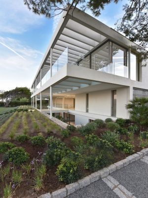Glass House on the Cap d'Antibes