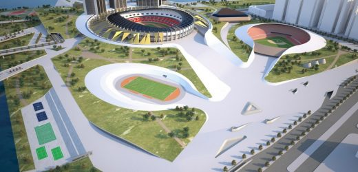 Jamsil Sports Hub Seoul Building