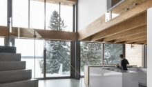 L'Accostee House in Adstock Quebec