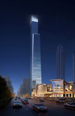 Nanning China Resources Tower building by Goettsch Partners