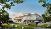 New Concert Hall Nuremberg building design