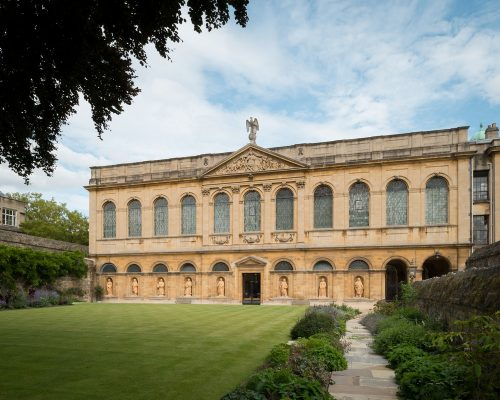 New Library Queen's College Oxford Architecture News