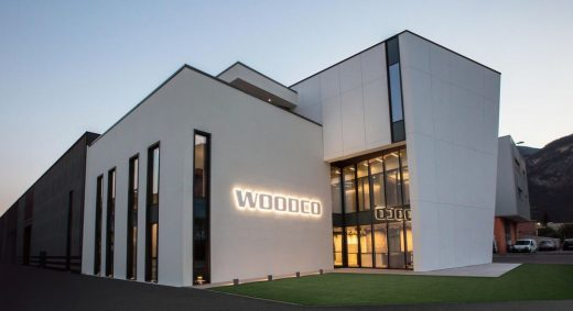 New Woodco Headquarter in Trento