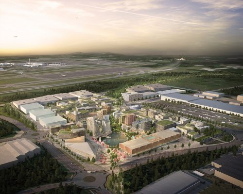 Oslo Airport City in Norway