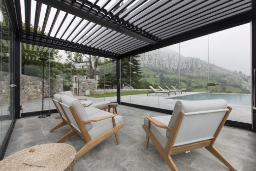 Palacete Cantabria Bioclimatic Pergola by Kawneer