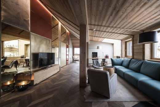 Rosa Alpina Hotel SPA Penthouse in the Dolomites