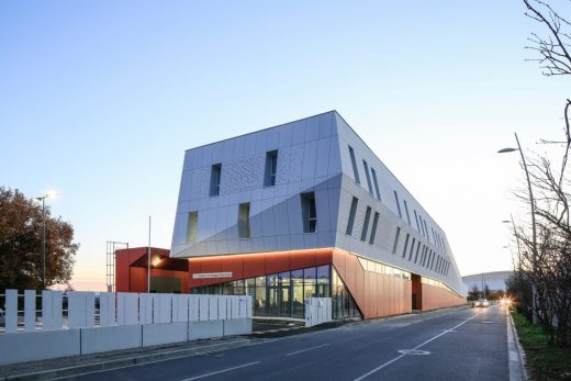 Technical Center of Blagnac France - French Architecture News