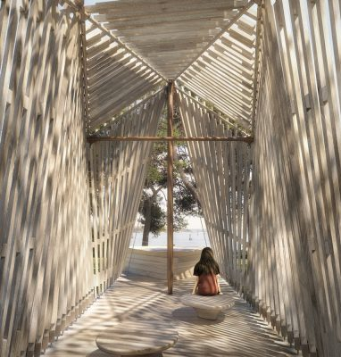 Pavilion design by Foster + Partners in Venice