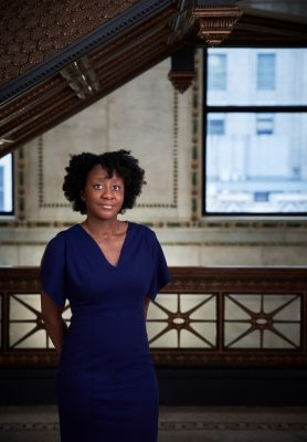 Yesomi Umolu at the Chicago Cultural Center