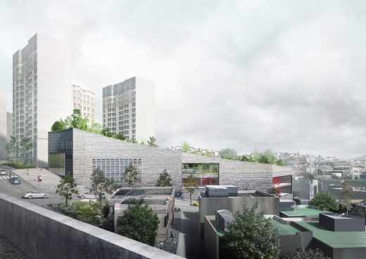 Youth Center and Sport Facility Seoul Architecture News