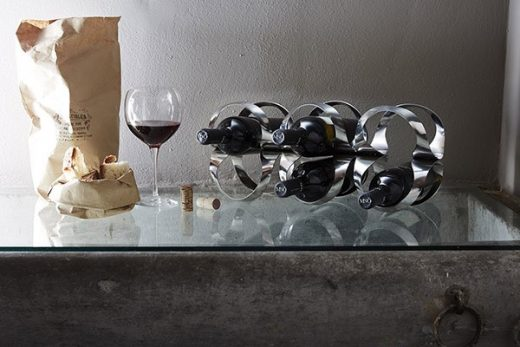 Alessi Ribbon Wine rack by UNStudio architects