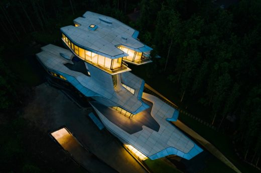 Capital Hill Residence in Moscow