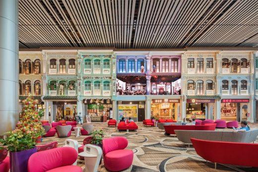 Changi Airport Interior in Singapore