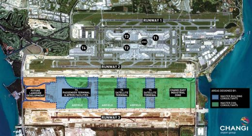 Singapore Changi Airport Terminal 5 site plan