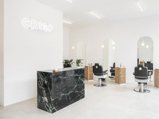 CRISP Barbershop in Pointe Saint-Charles Montreal Architecture News