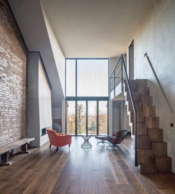 Crouch End Roof Conversion interior design
