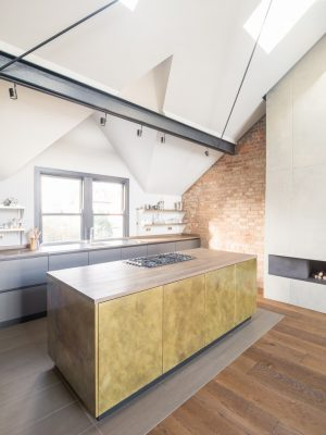 Crouch End kitchen interior design flat