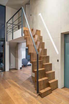 Crouch End stairs interior design