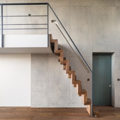 Crouch End Roof Conversion interior design stairs