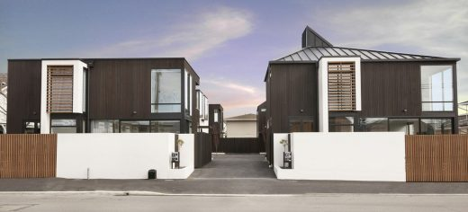 Durham Street Townhouses in Christchurch New Zealand architecture news
