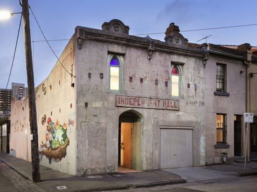 Fitzroy Street House in Melbourne